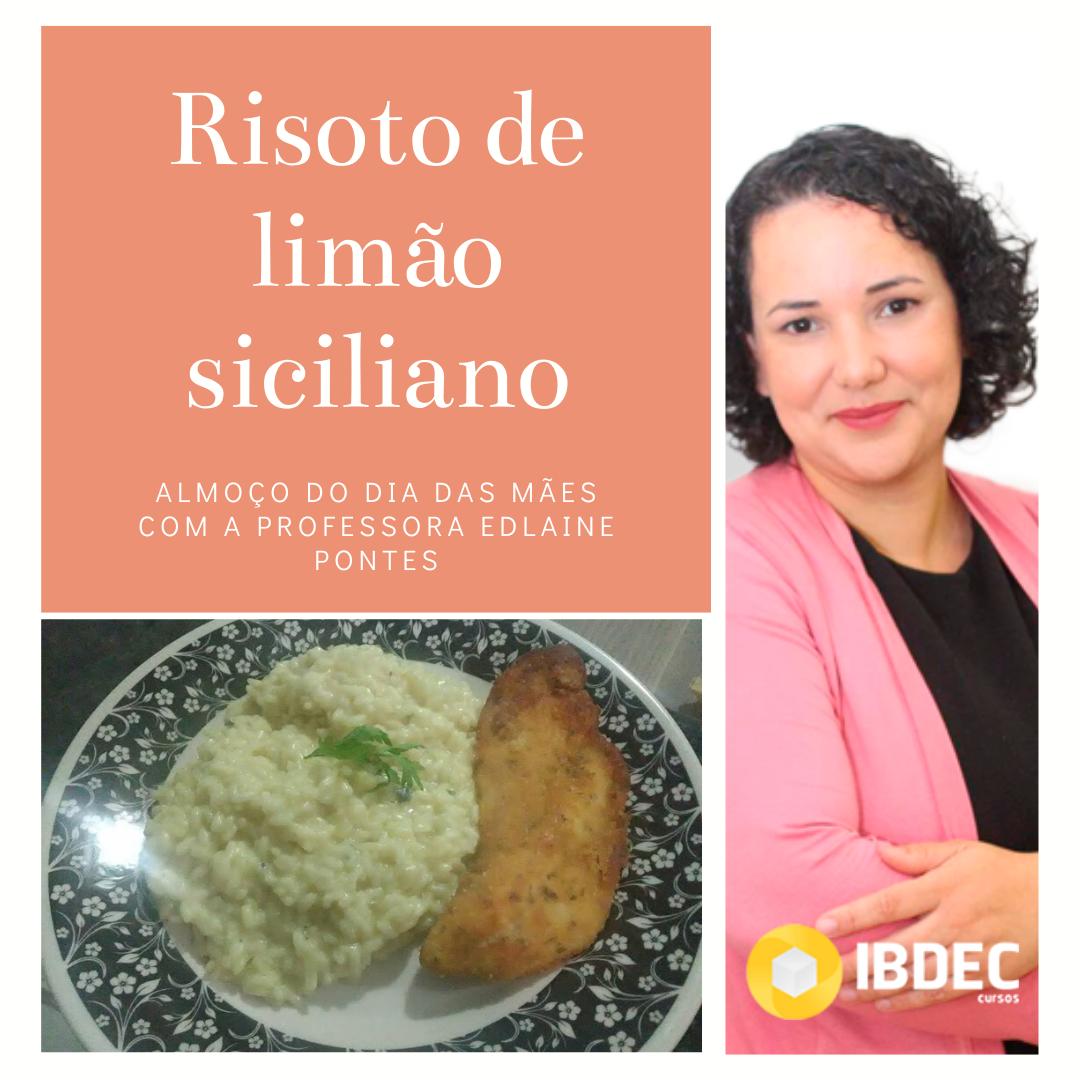 risoto limão siciliano