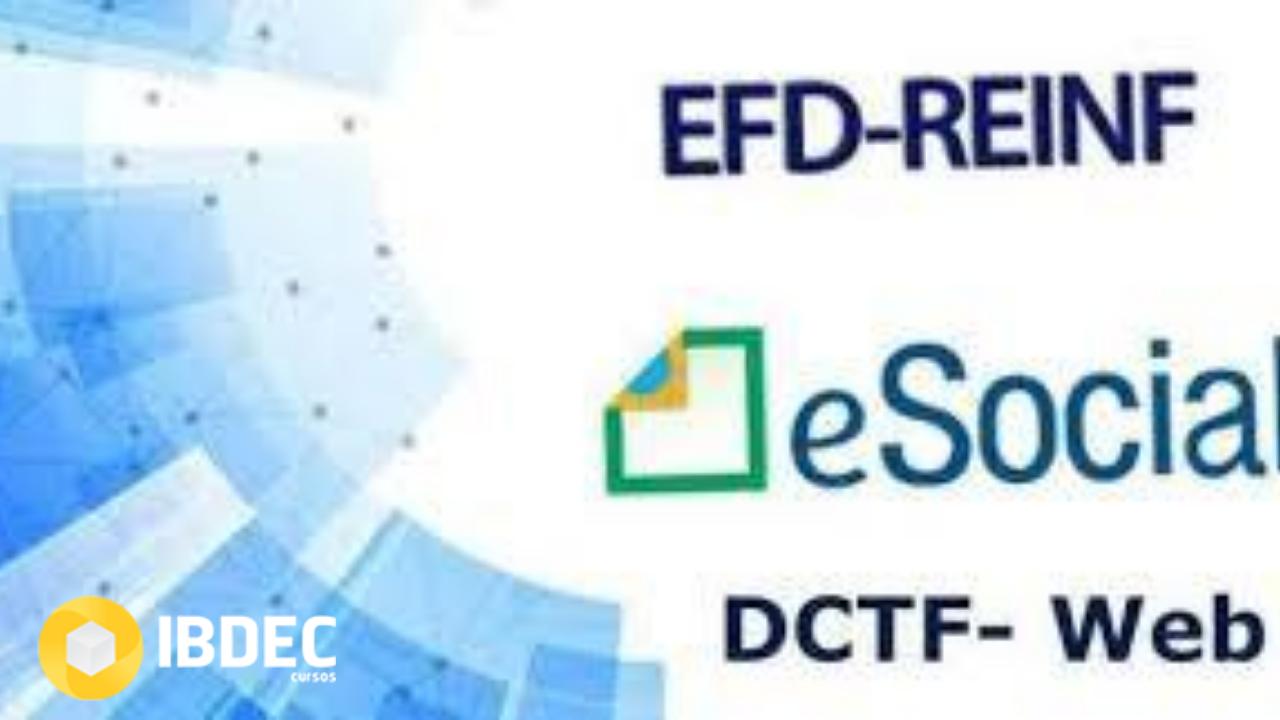 eSocial-EFDREINF-DCTFWEB